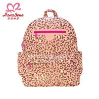 BabyTiger虎兒寶 HANA BENE  花花班尼 極輕感 大後背 13格層防潑水空氣包-2件組-粉色豹紋