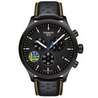 TISSOT天梭 Chrono XL系列 NBA勇士隊三眼計時手錶-45mm/T1166173605102