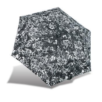 RAINSTORY雨傘-漾黑花現抗UV輕細口紅傘