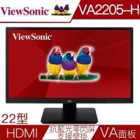 ViewSonic優派 VA2205-H 22型VA雙介面抗藍光零閃屏液晶螢幕