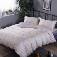 夢工場 香榭格蕾天絲四件式兩用被床包-雙人