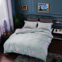 夢工場 溫柔特權天絲四件式兩用被床包-雙人