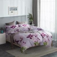 夢工場 春色蘊藏天絲四件式兩用被床包-雙人