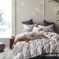 Indian 雙人100%天絲七件式床罩組-納沙
