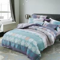 Indian 加大100%天絲七件式床罩組-洛克