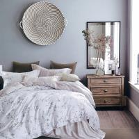 Indian 雙人100%天絲七件式床罩組-織花