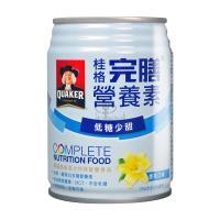 【QUAKER 桂格】完膳營養素 香草低糖 250ml*24入/箱