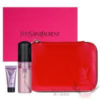 YSL 肌密系列豪華超值禮盒(潔顏慕斯+緊緻精華+化妝包)