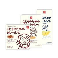 日本CANYON─兒童咖哩經典3件組( 兒童咖哩塊mini+兒童咖哩調理包+兒童奶油咖哩塊)