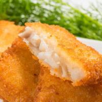 鮮綠生活 香酥可口阿拉斯加香酥鱈魚排(6片) 共6包