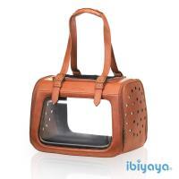 【IBIYAYA依比呀呀】移動櫥窗透明寵物提包-咖啡(FC1821)