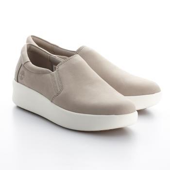 Timberland女款淡米色Slip-On便鞋A1T6QL47