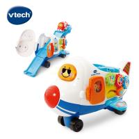 【Vtech】嘟嘟車系列-酷炫巨無霸飛機軌道組 (內附嘟嘟小飛機)