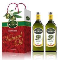Olitalia奧利塔-橄欖油禮盒6組(1000ML/瓶;2瓶/組)