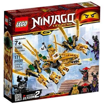 LEGO樂高積木 - NINJAGO 旋風忍者系列 - 70666 黃金龍