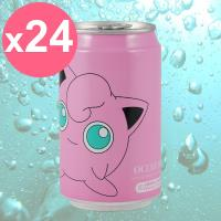 【Y.H.B】Ocean Bomb  Pokemon海洋深層氣泡水330ml x24入  胖丁版(水蜜桃風味)