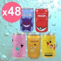 【Y.H.B】Ocean Bomb  Pokemon海洋深層氣泡水330ml x24入 任選 x2箱