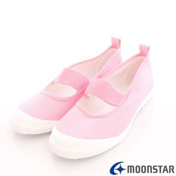 日本Moonstar抗菌防滑室內鞋(粉)中小童段-MS1931-(15cm~25cm)-m