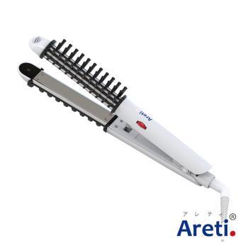 Areti 3way多功能溫控電棒捲梳(黑)