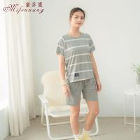 [MFN蜜芬儂]清新自然棉質居家睡衣2套組-型(網)