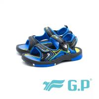 G.P 兒童磁扣式涼鞋 防水止滑 童鞋 - 寶藍 (另有黑桃、綠)