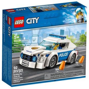 LEGO樂高積木 - City 城市系列 - 60239 警察巡邏車