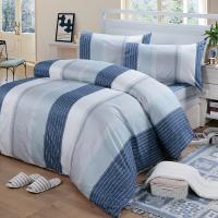 Victoria 雙人四件式純棉被套床包組-格調