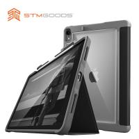 澳洲【STM】Dux Plus 系列 iPad Pro 11吋 專用軍規防摔保護殼 可收納Apple Pencil (黑)