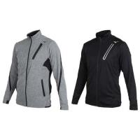 MIZUNO 男針織運動外套-美津濃 慢跑 路跑 立領外套