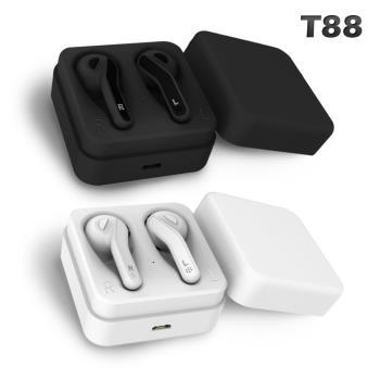 SOYES-藍牙5.0震憾雙耳立體聲無線耳機T88
