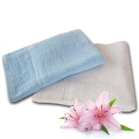法式寢飾花季 優雅生活-純棉厚織舒柔毛巾被935g/條x3件組(白色)