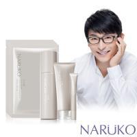 NARUKO 牛爾 白玉蘭鑽采超緊緻洗面霜+化妝水+K眼霜+彈力面膜 10入