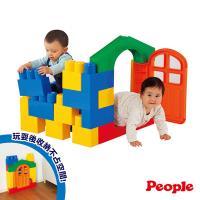日本People-全身體感大積木-空間遊戲組合(20種不同主題)