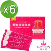 【UNISKIN零机齡】蝦紅素青春凍(14條/盒)*6盒