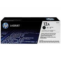 【HP 惠普】12A 黑色原廠 LaserJet 碳粉盒(Q2612A)
