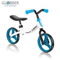 GLOBBER哥輪步 GO BIKE兒童平衡滑步車/學步車-白藍