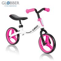 GLOBBER哥輪步 GO BIKE兒童平衡滑步車/學步車-白粉