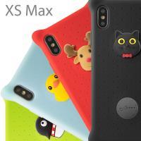 Bone / iPhone XS Max 手機殼 泡泡保護套 (6.5吋) - 派提鴨/麋鹿先生/喵喵貓/企鵝小丸