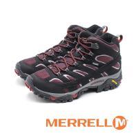 MERRELL MOAB 2 MID GORE-TEX郊山健行鞋 男鞋-黑