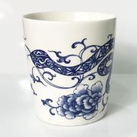 青花皇后楊莉莉-蛇 生肖杯~花蛇綿延