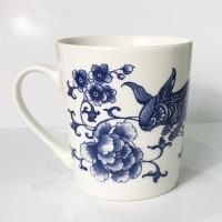 青花皇后楊莉莉-兔 生肖杯~玉兔迎新