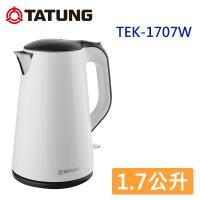 TATUNG大同 1.7公升電茶壺-白色 TEK-1707W