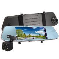 IS愛思 RV-19XW 7吋2.5D圓弧導角觸控螢幕前後雙鏡頭後視鏡行車紀錄器