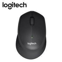 【Logitech 羅技】M331 靜音無線滑鼠 黑享受靜謐無聲的體驗