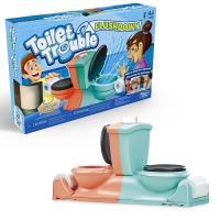 Hasbro孩之寶 聚會桌遊 - 瘋狂馬桶沖水對戰