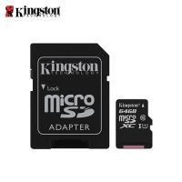 【Kingston 金士頓】Canvas Select MicroSDXC/UHS-I C10 64GB 記憶卡 (SDCS/64GB)