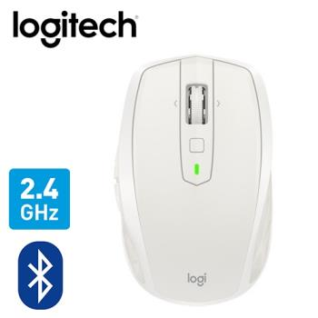 【logitech 羅技】MX ANYWHERE 2S 無線滑鼠 白 送文青平板包