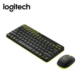 【logitech 羅技】MK240 NANO無線鍵鼠組 黑色