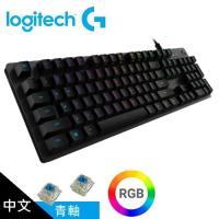 【logitech 羅技】G512 RGB 機械遊戲鍵盤 (青軸)