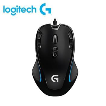 【logitech 羅技】G300S 玩家級光學滑鼠